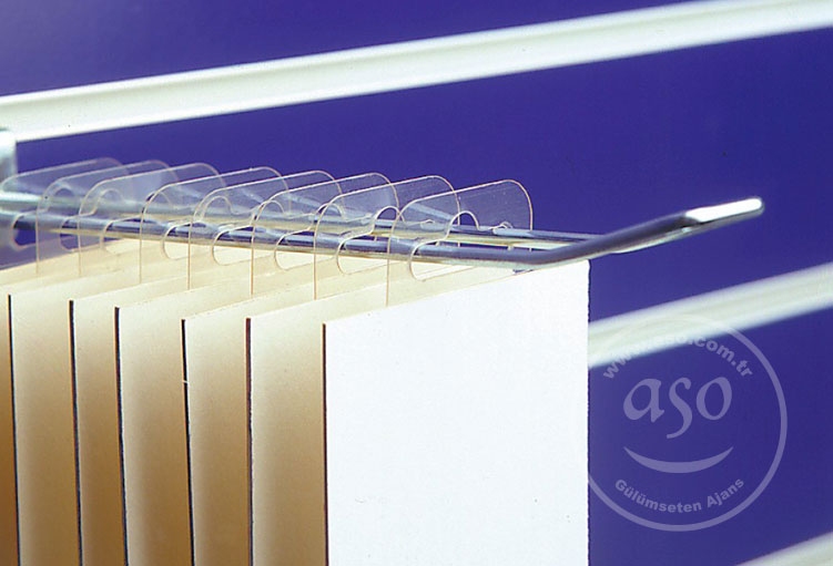 sticky hang tab pvc plastic clear
